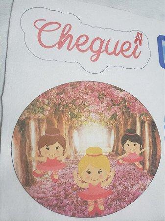 Placa de Porta Maternidade 6