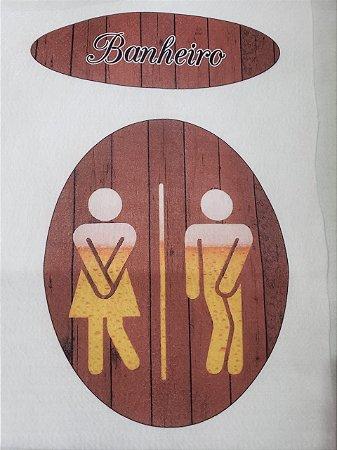 Enfeite de Porta Banheiro 2
