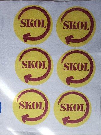 Porta copo Skol