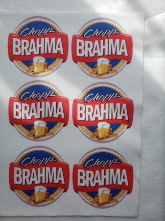 Porta copo Brahma