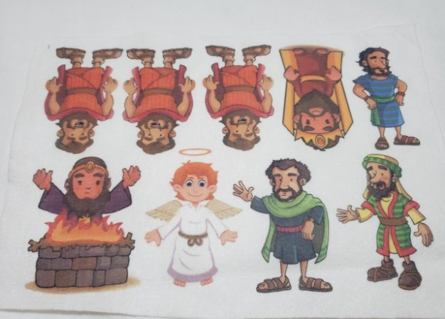kit Histórinhas Daniel na Fornalha
