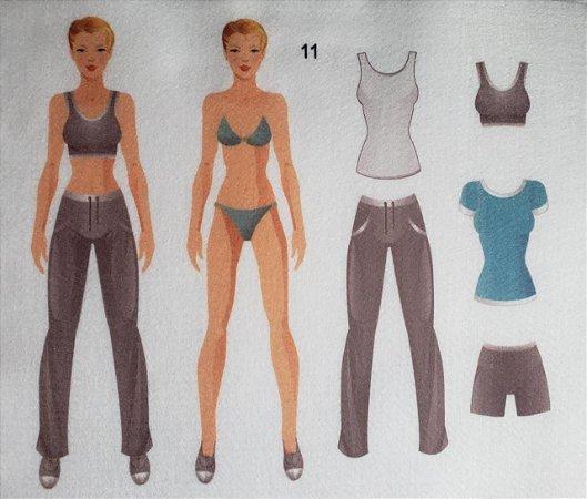 Bonequinha de Vestir 11