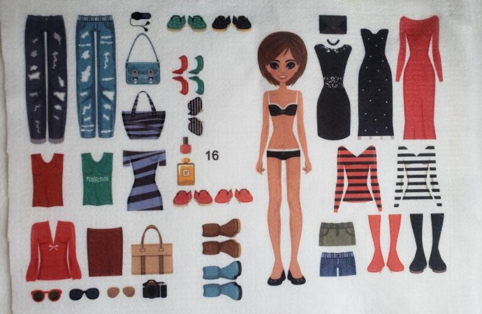Bonequinha de Vestir 16