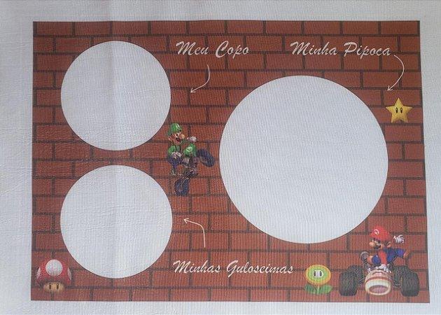 Almofada Pipoca P Mario Kart