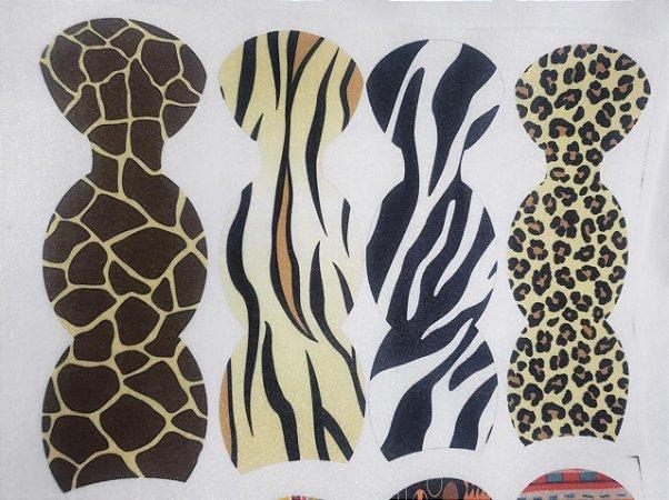 Bolsinha Chaveiro Animal Print