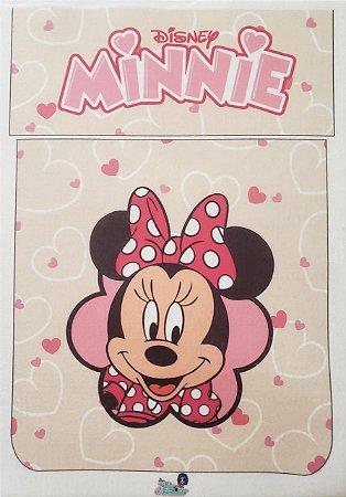 Porta Make Minnie Rosa