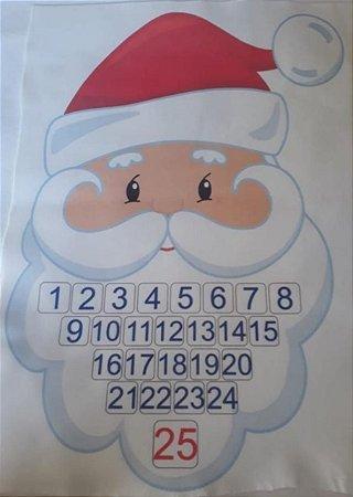 Papai Noel Calendário - Calendário Advento