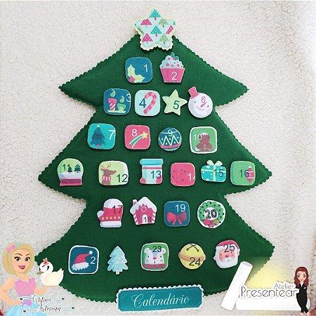 Calendário Natal - Calendário Advento
