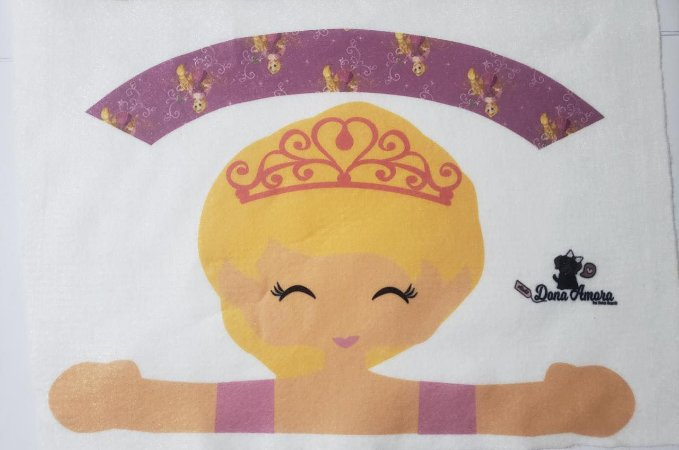 Porta Laço - Rapunzel