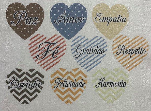Coração colorido 13