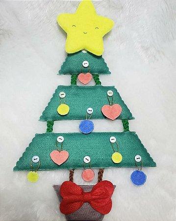 Árvore de Natal p (lisa)