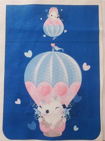 Kit higiene gatinha no balão