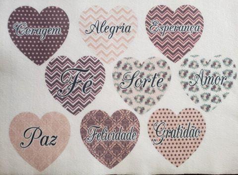 Coração colorido 2- 10