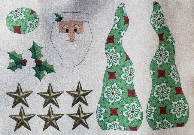 Papai Noel enfeite de mesa 6
