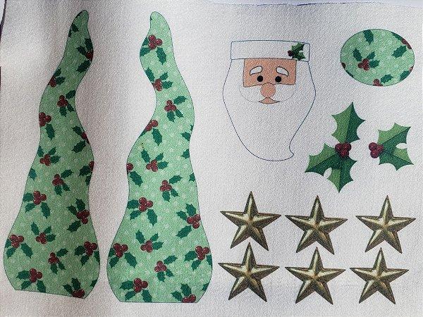 Papai Noel enfeite de mesa 5