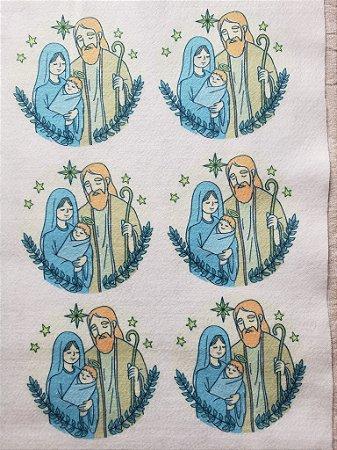 Bolinha Sagrada Família Amarelo