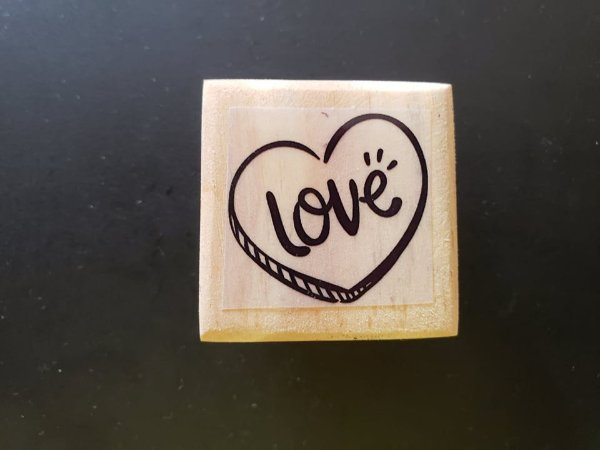Carimbo Love 3x3