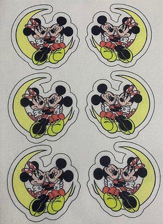 Mickey e Minnie Lua