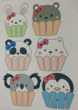 Bichinho Cupcake 1