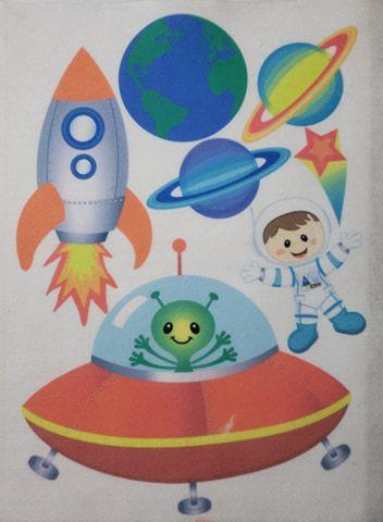 Kit para Móbile Astronauta Menino