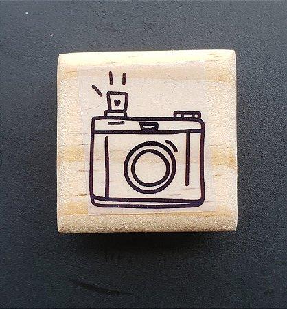 Carimbo Câmera Fotográfica  4x4