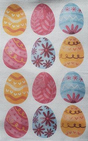 Ovos de Páscoa Para confecção de Guirlandas 1 7x5cm