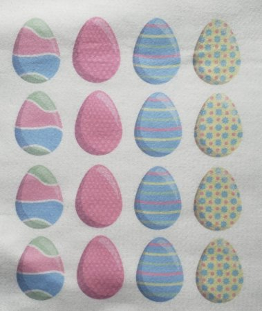 Ovos de Páscoa Para confecção de Guirlandas 4 5x4cm
