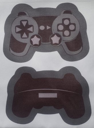 Estojo Joystick/ controle de video game preto