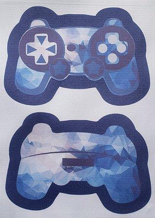 Estojo Joystick/ controle de video game Azul