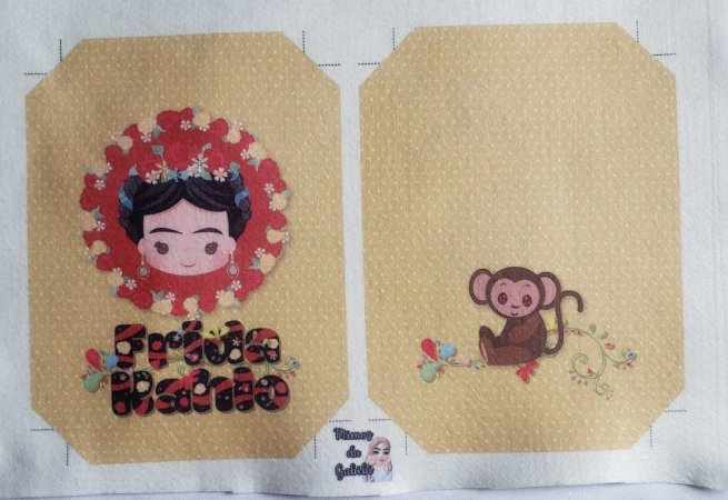 Capa de agenda A5 Frida