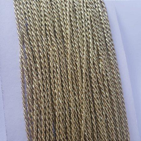 Cordão de São Francisco 2mm Ouro