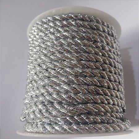 Cordão de São Francisco 5mm Prata