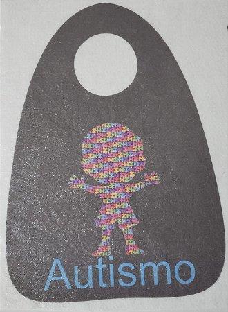Lixeira Autismo Preta