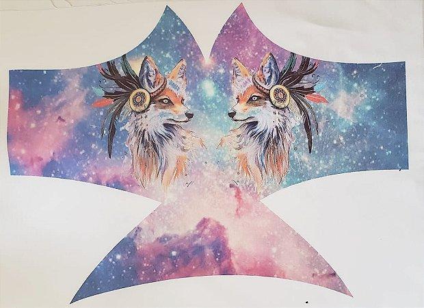 Máscara de Proteção Lobo Tie Dye