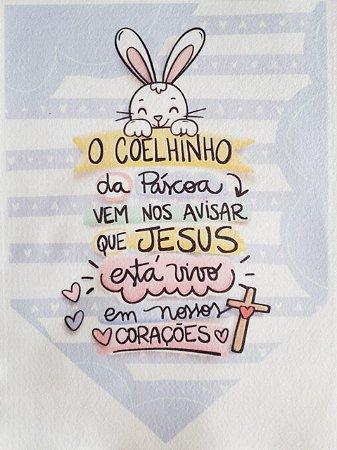 Flamula PáscoaO coelhinho da Páscoa vem nos avisar...