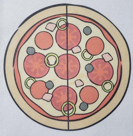 Livro Didático - Pizza fração 2