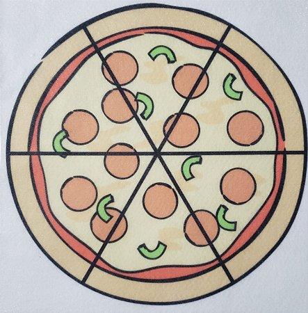 Livro Didático - Pizza fração 6