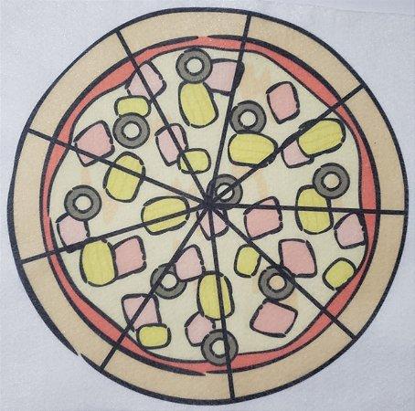 Livro Didático - Pizza fração 9