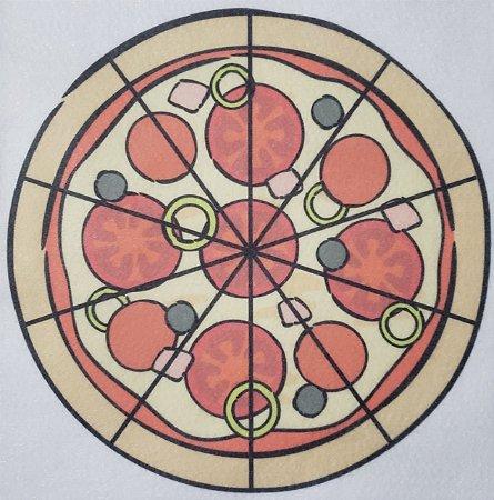 Livro Didático - Pizza fração 10