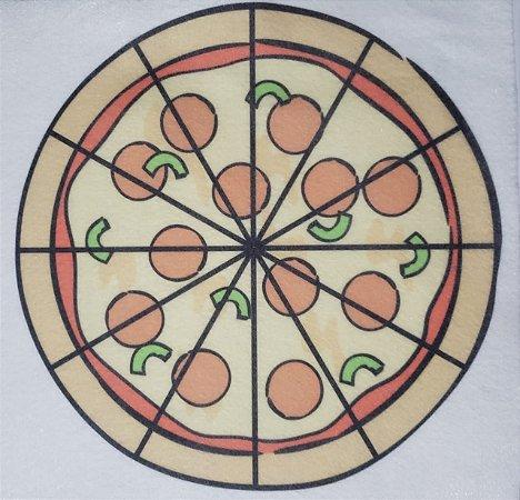 Livro Didático - Pizza fração 12