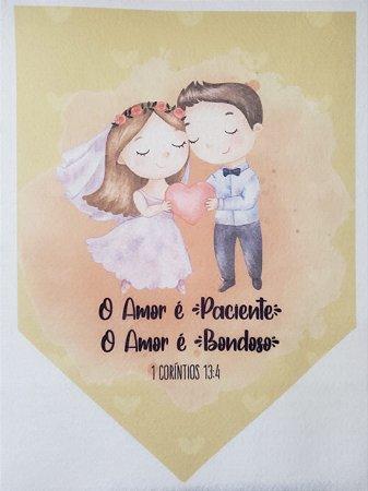 Flamula O Amor é Paciente, O Amor é Bondoso