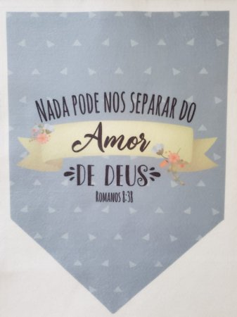 Flamula Nada Pode Nos Separar do Amor de Deus