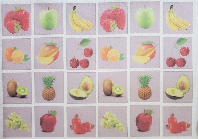 Jogo da Memória Frutinhas