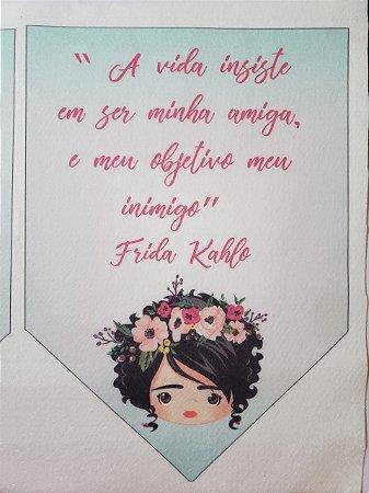 Flamula Frida A vida insiste em ser minha amiga