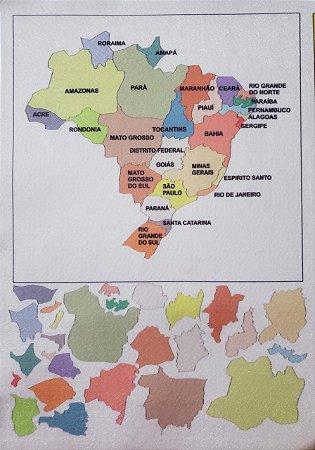 Mapa do Brasil e Estados