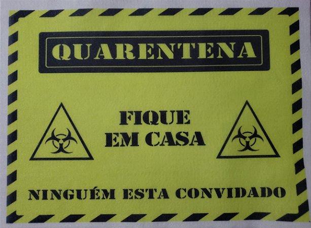 Placa Quarentena