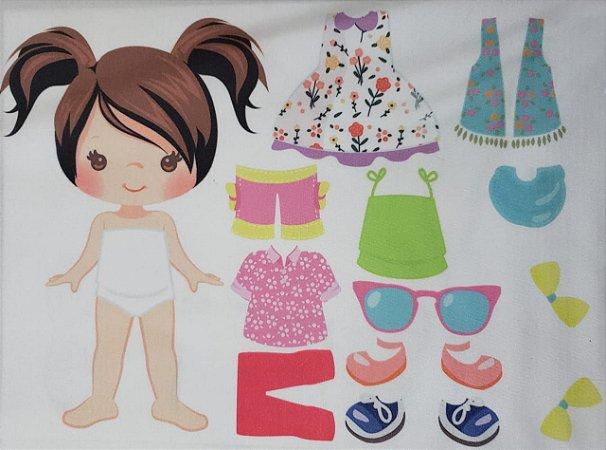 Menina de vestir cute 5