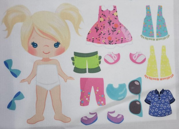 Menina de vestir cute 7