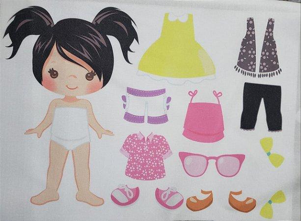Menina de vestir cute 8