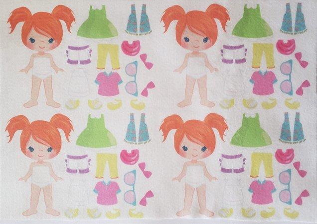 Mini Menina de vestir cute 10